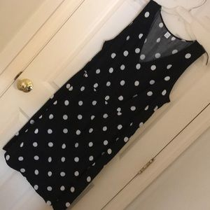 Afternoon polka dot dress 👗